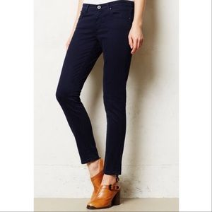 Ag Adriano Goldschmied Stevie Ankle Slim Sateen